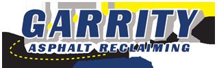 Garrity Asphalt Reclaiming logo.