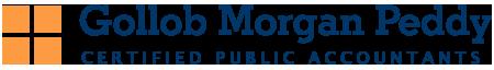 Gollob Morgan Peddy logo. CPAs.
