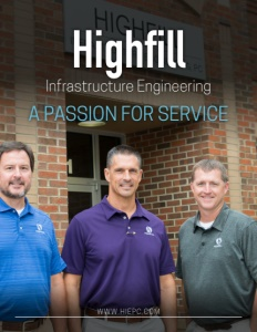 Highfill Infrastructure Engineering brochure cover.