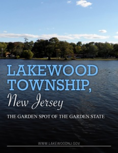 Lakewood Township, New Jersey brochure cover.