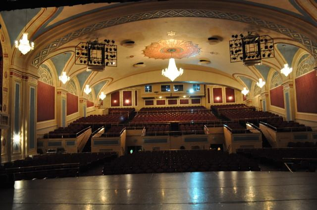 Lakewood Township, New Jersey theater interior.