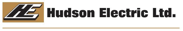 Hudson Electric logo.