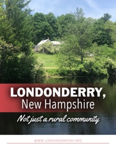 Londonderry, New Hampshire brochure cover.