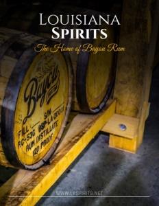 Louisiana Spirits brochure cover.