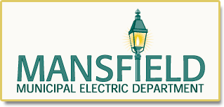 Mansfield Electric logo.