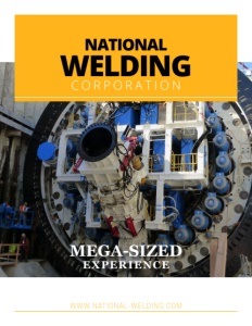 National Welding Corporation brochure cover.
