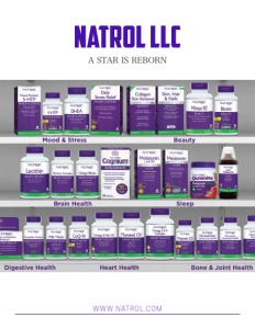 Natrol LLC brochure cover. Click to view.