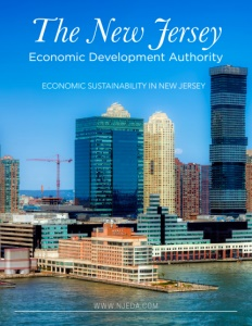 The New Jersey Economic Development Authority brochure cover.
