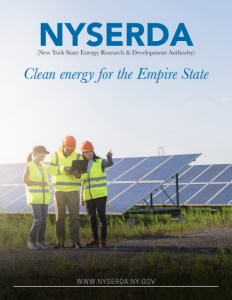 New York State Energy Research & Development Authority, NYSERDA, brochure cover.