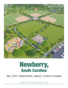 Newberry, South Carolina brochure cover.