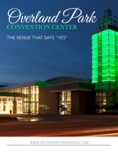 Overland Park Convention Center brochure cover.
