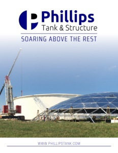 Phillips Tank & Structure brochure cover.