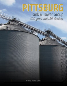 Pittsburg Tank & Tower Group brochure cover.