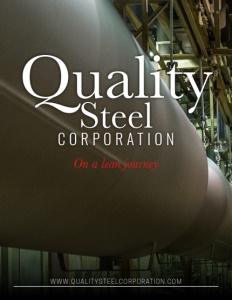 Quality Steel Corporation brochure cover.