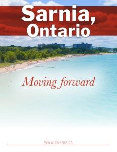 Sarnia, Ontario brochure cover.