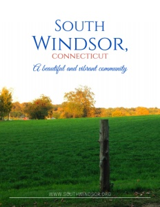 South Windsor, Connecticut brochure cover.