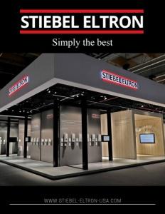 Stiebel Eltron brochure cover.