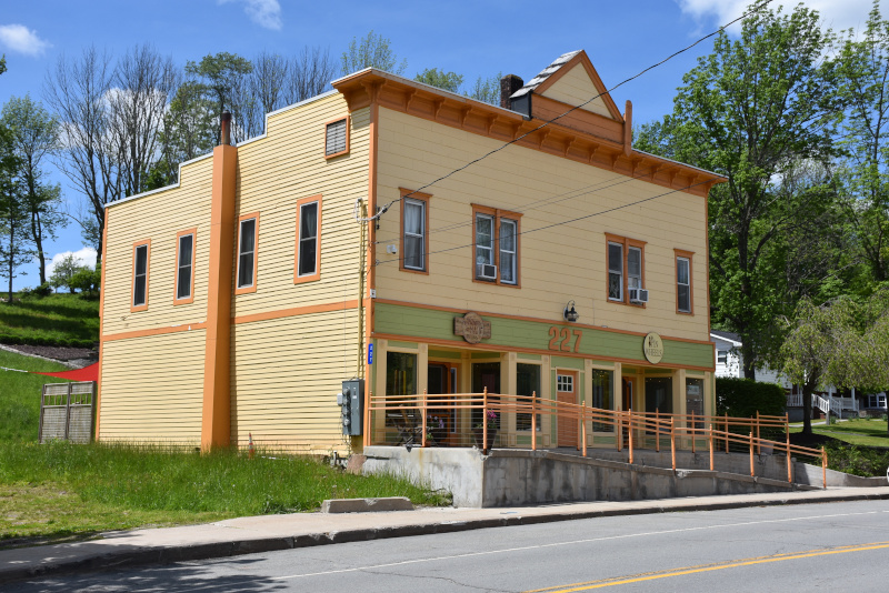 The Center for Discovery – Sullivan County's largest employer and a major research and specialty center that offers residential, medical, clinical and special education programs for people with complex conditions – has revitalized the hamlet of Hurleyville, rehabbing 19th century buildings lining Main Street and attracting businesses to customer-oriented storefronts like 227 Main, which currently houses a fiber arts supply store and hosts crafts classes.