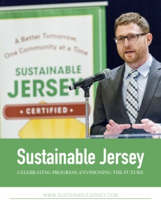 Sustainable Jersey brochure cover.