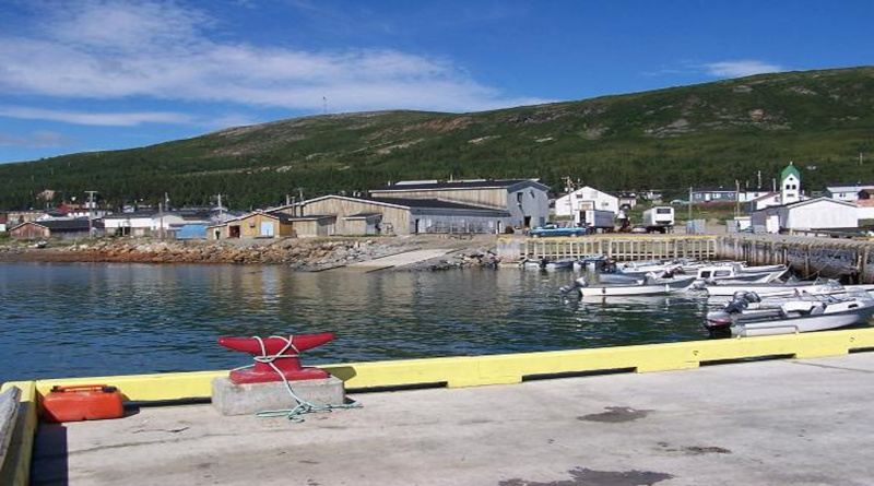 Torngat Fish Producers boats on the water.