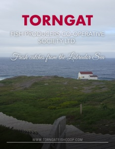 Torngat Fish Producers Co-operative Society Ltd. brochure cover.