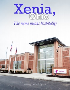 Xenia, Ohio brochure cover.