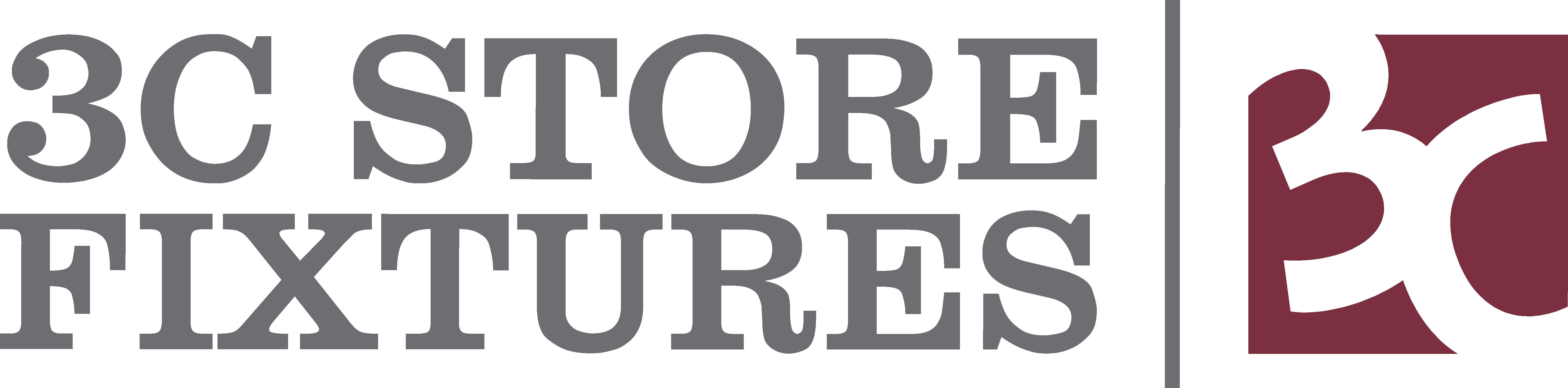 3C Store Fixtures logo.