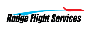Hodge Flight Services logo.