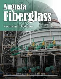 Augusta Fiberglass brochure cover.