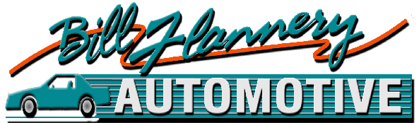 Bill Flannery Automotive logo.