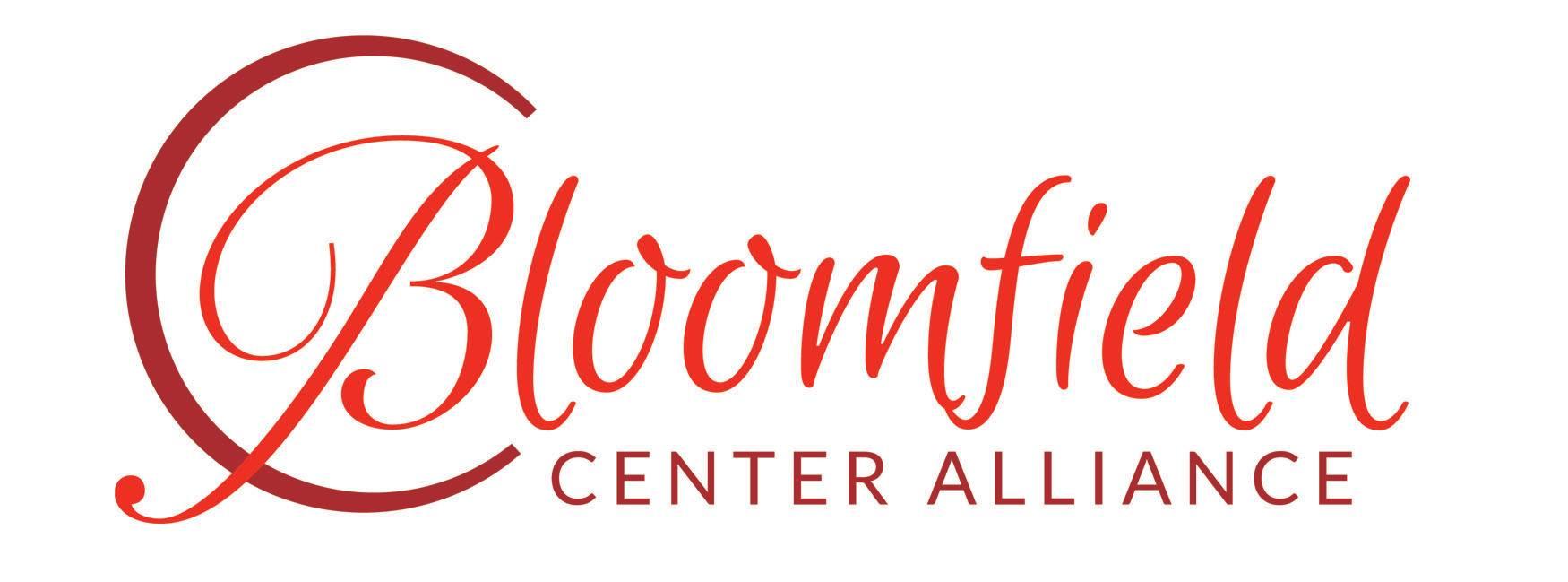 Bloomfield Center Alliance logo.