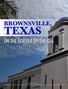 Brownsville, Texas brochure cover.