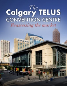 The Calgary TELUS Convention Centre brochure cover.