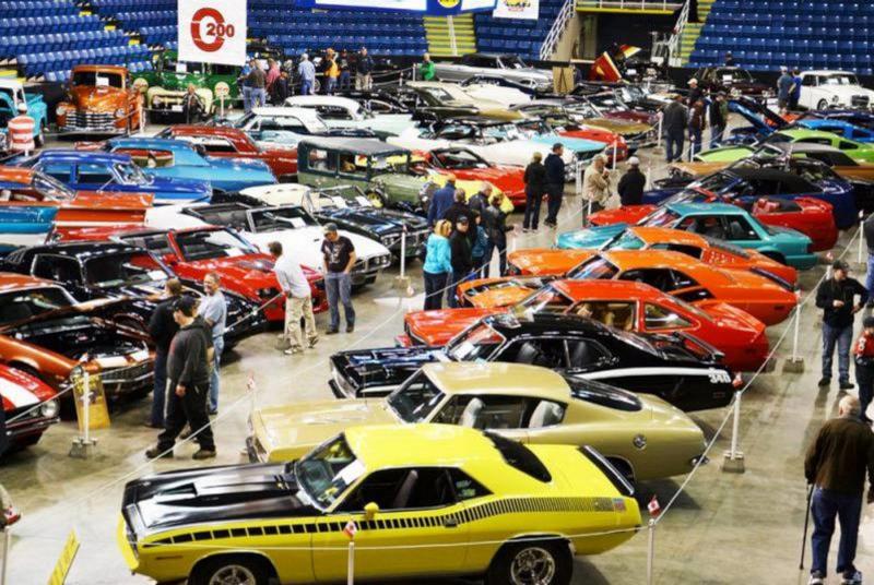 Centre 200 car show.