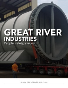 Great River Industries brochure cover.