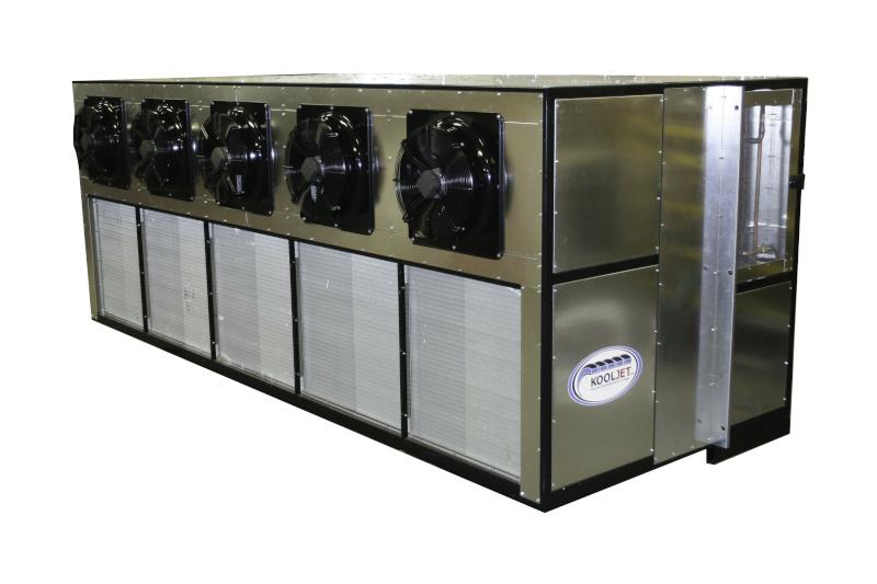KoolJet Unit photo showing a refrigeration unit.