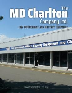 The MD Charlton Company Ltd brochure cover.