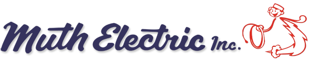 Muth Electric Inc. logo.