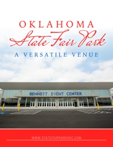 Oklahoma State Fair Park brochure cover.