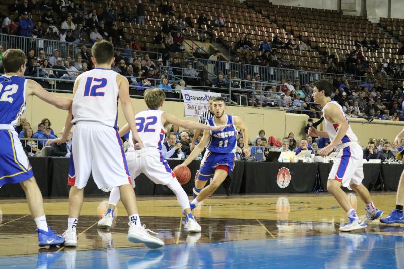 Oklahoma State Fair Park High Schools Basketball Championships.
