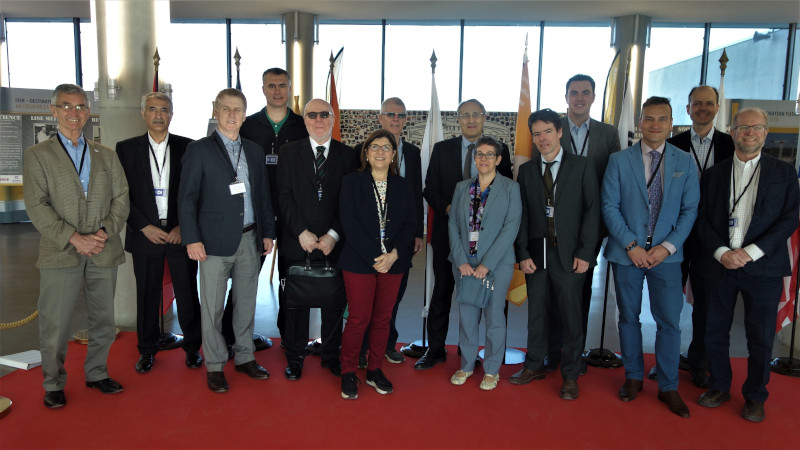 Organization of Canadian Nuclear Industries Canadian delegation.
