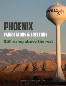 Phoenix Fabricators & Erectors brochure cover.