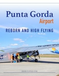 Punta Gorda Airport brochure cover.
