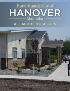 Rural Municipality of Hanover, Manitoba brochure cover.