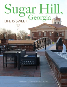 Sugar Hill, Georgia brochure cover.