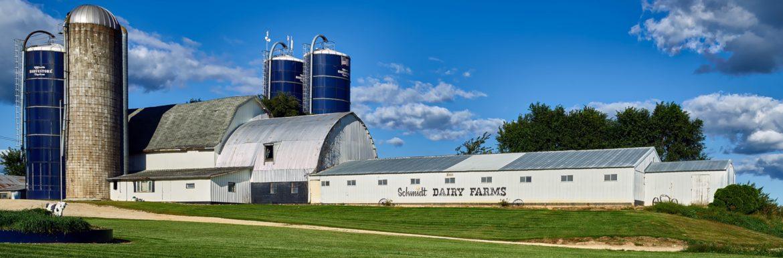 Wiscon dairy farm.