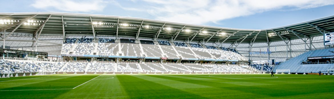 Allianz Field Stadium view of the stadium from the field.