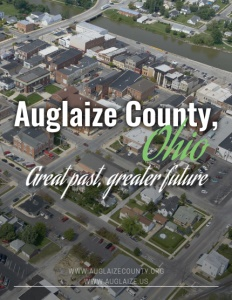 Auglaize County, Ohio brochure cover.