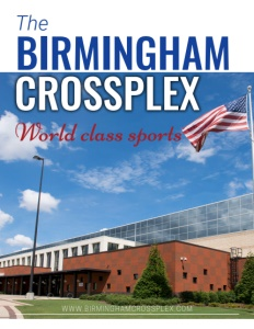 Birmingham Crossplex brochure cover.