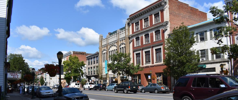 The Borough of Carlisle, Pennsylvania, PA, Street view.